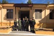 Επίσκεψη του Διοικητή της Πυροσβεστικής Ακαδημίας στα Κέντρα Βασικής Στρατιωτικής Εκπαίδευσης