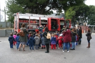 Επίσκεψη-ενημέρωση μαθητών Νηπιαγωγείου στην Πυροσβεστική Ακαδημία
