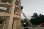 Εκπαίδευση της Σχολής Ανθυποπυραγών της Πυροσβεστικής Ακαδημίας
