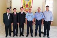 Επίσκεψη αντιπροσωπείας από την Ταϊβάν στην Πυροσβεστική Ακαδημία