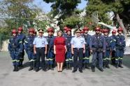 Επίσκεψη της Υφυπουργού Προστασίας του Πολίτη στην ΠΥΡ.Α